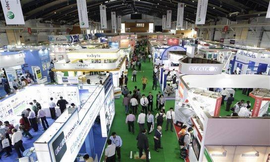 印度国际电子元器件及生产设备展览会