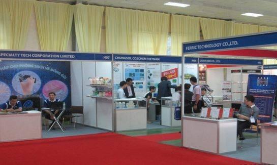 越南河内国际电子元器件及生产设备展览会