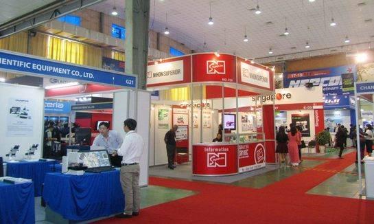 越南河內國際電子元器件及生產設備展覽會